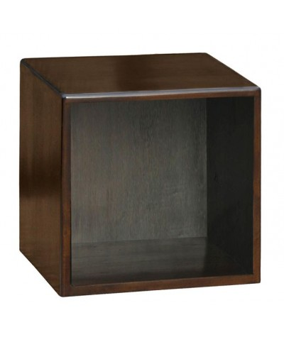 Cube vide Acajou 40/35/40