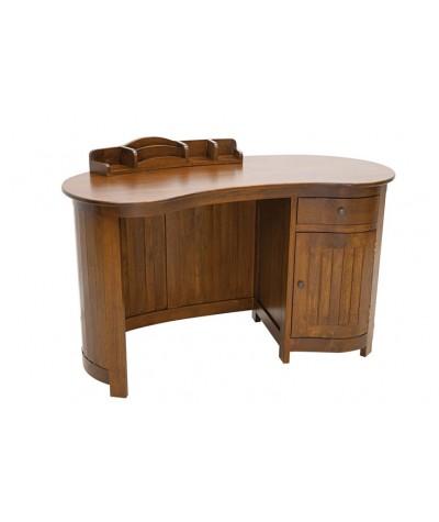 Bureau hévéa 1 tiroir + 1...