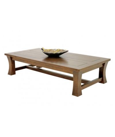 Table basse hévéa Zen 110/60