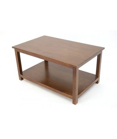 Table basse hévéa 80/50