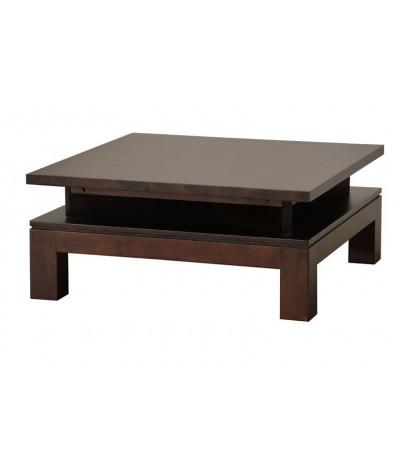 Table basse hévéa Mo 80/80