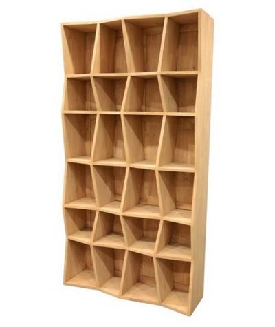 Bibliorhèque Hévéa 24 Cases...