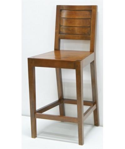 Chaise de bar Hévéa...