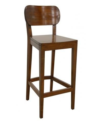 Chaise de bar Hévéa New...