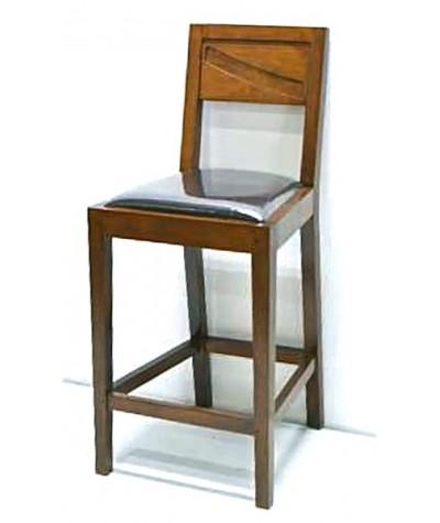 Chaise de bar Hévéa Mombasa...