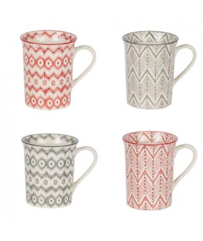 Coffret 4 Mugs Santafé