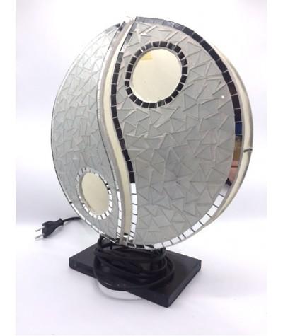 Lampe mosaïque yin yang...