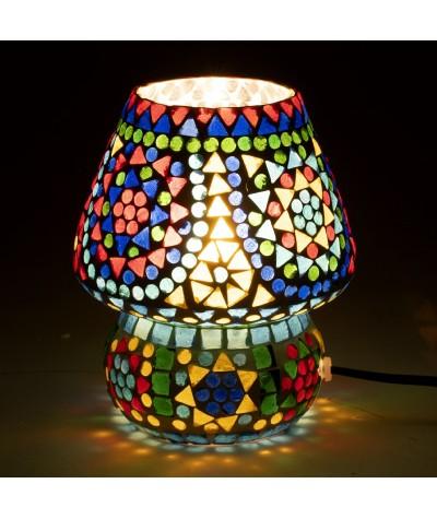 Lampe mosaïque verre 16163