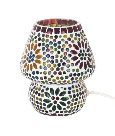 Lampe mosaïque verre 16164