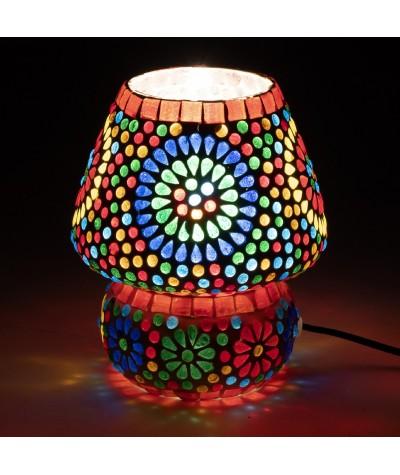 Lampe mosaïque verre 23819
