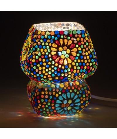 Lampe mosaïque verre 22825