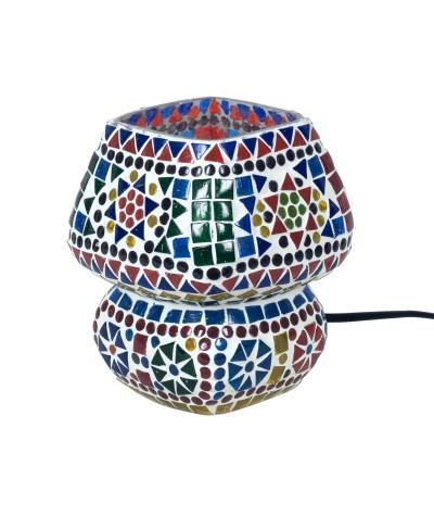 Lampe mosaïque verre 22828
