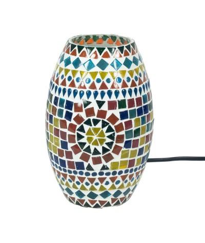 Lampe mosaïque verre 22838