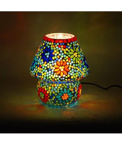 Lampe mosaïque verre 16162