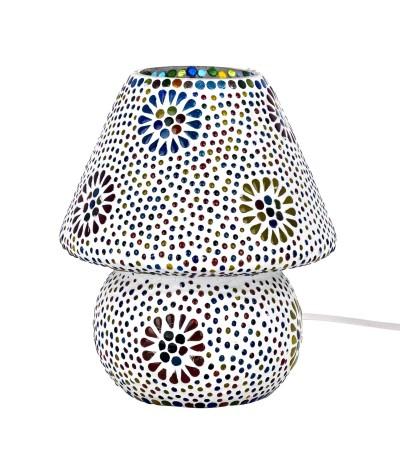 Lampe mosaïque verre 16161