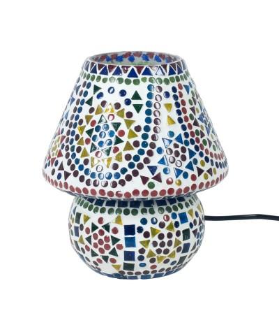 Lampe mosaïque verre 22830