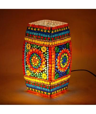 Lampe mosaïque verre 16159