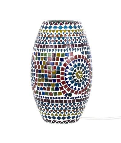 Lampe mosaïque verre 22835