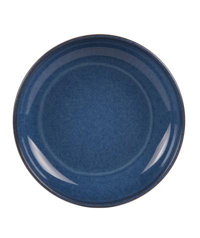 Assiette calotte bleu...