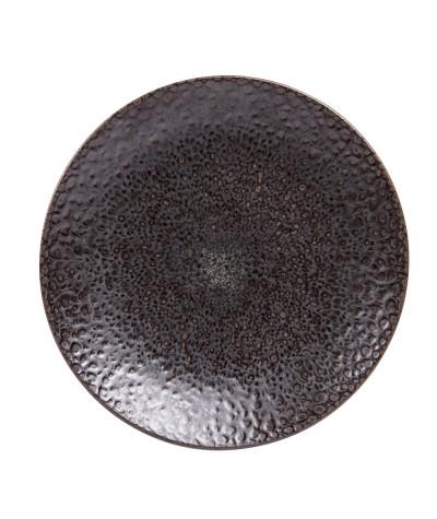 Assiette plate basalte 27