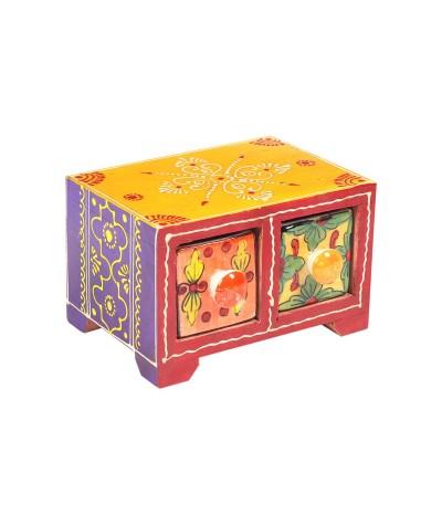 Mini meuble 2 tiroirs 19980