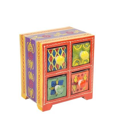 Mini meuble 4 tiroirs 19977