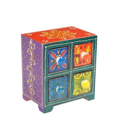 Mini meuble 4 tiroirs 19987