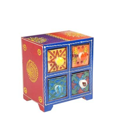 Mini meuble 4 tiroirs 20018
