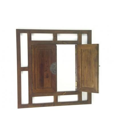 Miroir fenêtre hévéa Shanxi...